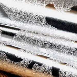 Image 4 - קלאסי יוקרה דמשק זהב רדיד כסף קיר נייר גליטר טפט ציור קיר תקרת חדר שינה ספת טלוויזיה רקע קיר בית תפאורה