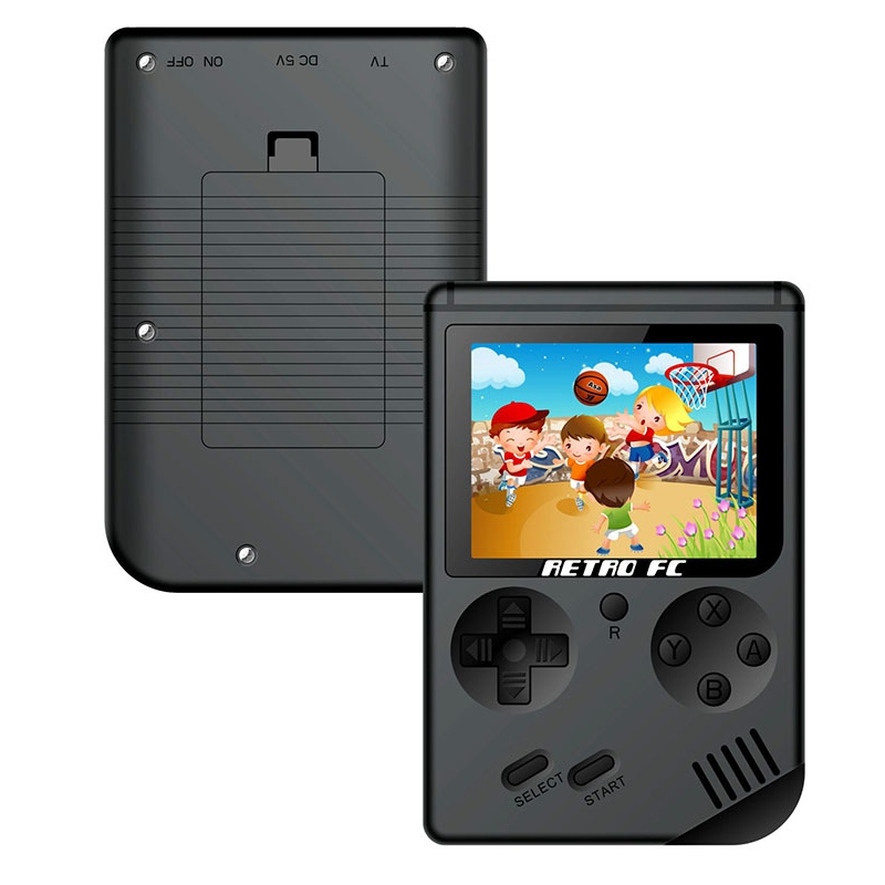 Mini Handheld Game Console Player 3.0 Inch 8 Bit Classic TV Portable Handheld Game Player Built-in 168 Games Best Gift For Kids