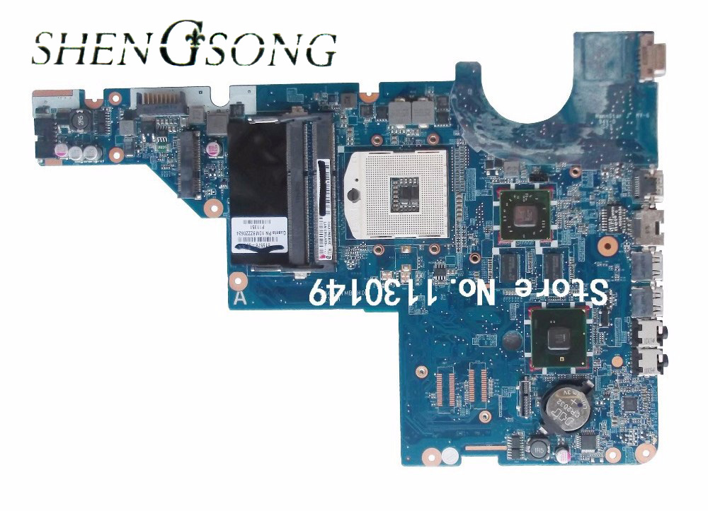 595183-001 Free Shipping For HP motherboard CQ42 G42 G62 CQ62 laptop motherboard DAOAX1MB6F0 DA0AX1MB6H0 100% Fully Tested free shipping 613295 001 for hp probook 6450b 6550b series laptop motherboard all functions 100% fully tested