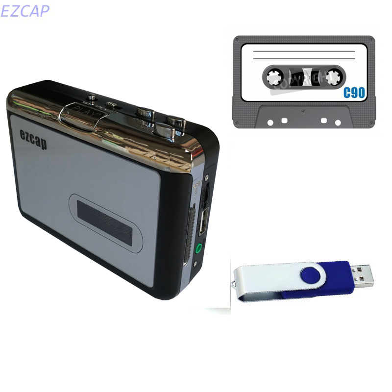 2017 new Tape to USB Flash disk converter, convert old tape cassette to mp3 save in usb flash disk directly, Free shipping