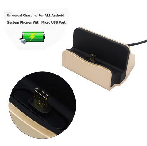 Cepat Pengisian Micro USB Dock Station Untuk Samsung Galaxy J1 J3 J5 - Aksesori dan suku cadang ponsel - Foto 4