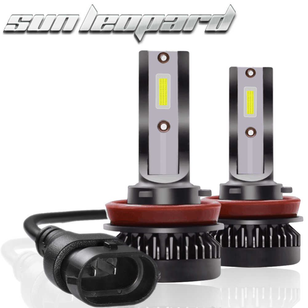 Mini H1 Led H7 with Lumileds 6000K LED 8000LM 60W/set Lampada H4 Bulb HB3 9005 9006 Hb4 Fog Light  H11 9012 Headlights