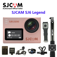 Original SJCAM SJ6 LEGEND WiFi 4K 24fps Ultra HD Notavek 96660 Waterproof Action Camera 2″ Touch Screen Remote Sports