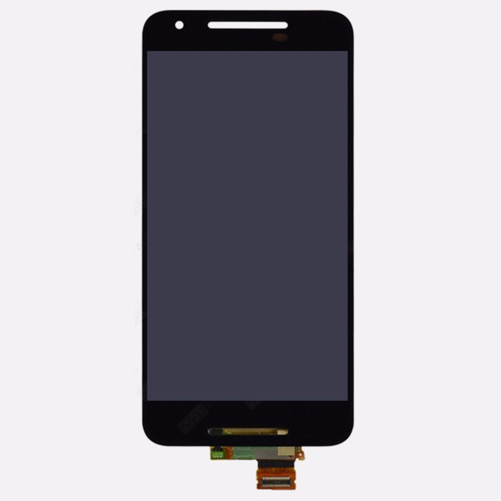 New LCD Display Touch Screen with Digitizer Assembly replacement For LG Google Nexus 5X Free shipping new lcd touch screen digitizer with frame assembly for lg google nexus 5 d820 d821 free shipping