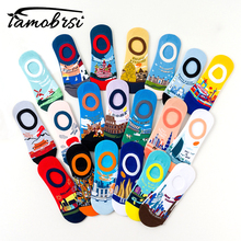 World Attractions Shallow Mouth Socks Women Men Invisible Summer Short Low Cut No Show Non-Slip Boat Slipper Silicone Socks цена