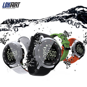 Image 2 - LOKMAT Smart Watch Sport Waterproof pedometers Message Reminder Bluetooth Outdoor swimming men smartwatch for ios Android phone