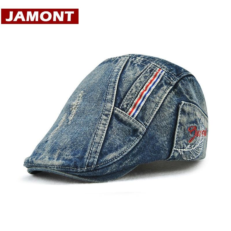 [JAMONT] 2018 Yeni Uşaq Şlyapaları Boy Visor Şapka Beret Qapaqlı - Geyim aksesuarları - Fotoqrafiya 1