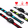 2018 QW11 Blood Pressure Bracelet Smart Bracelet Heart Rate Waterproof Fitness Activity Tracker Smart Band PK