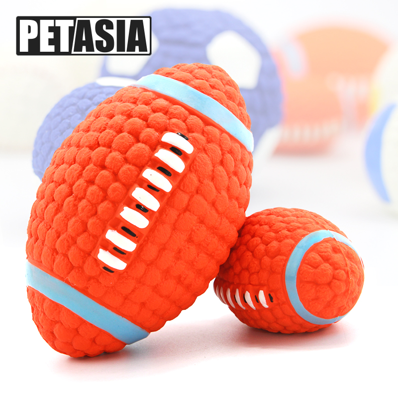 Adidog Dog Pet Rubber Pinball Balls Toy For Small Dogs Interactive Volleyball Puppys Chew Play Toys Cachorro Pet Supplies 102