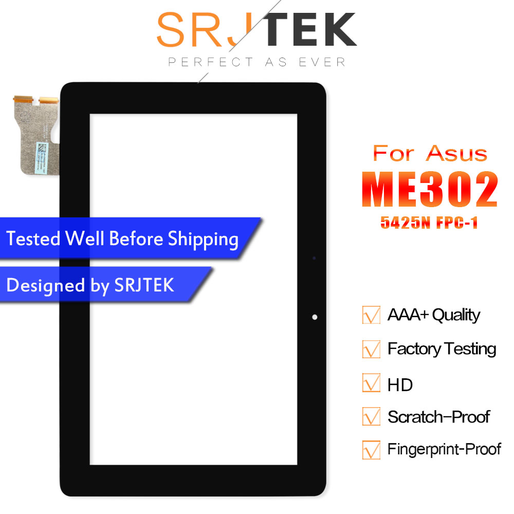 For ASUS MeMO Pad FHD 10 ME302 ME302C ME302KL K005 K00A 5425N Touch Screen Tablet Pc