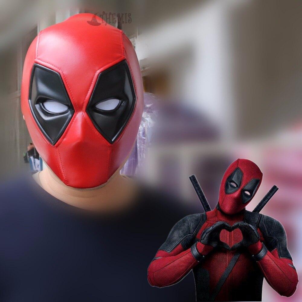 Masque cosplay Athemis Deadpool de haute qualité et identique au jeu cosplay original