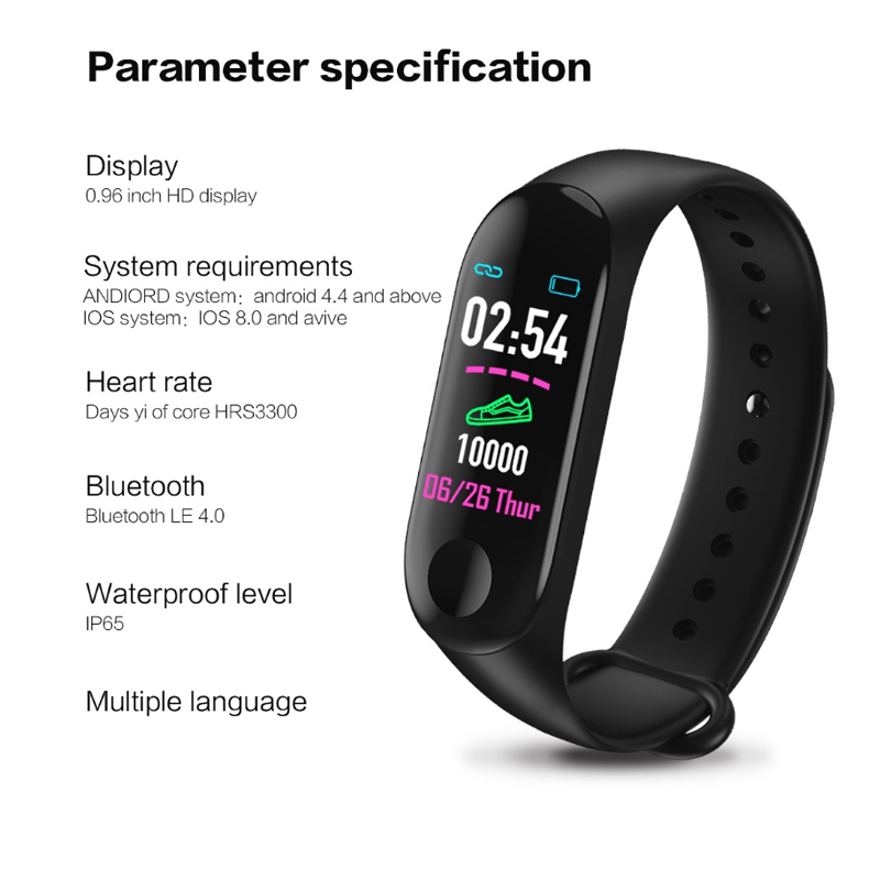 Budget Fitness Tracker Android Smart Watch 22