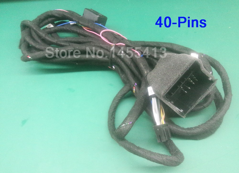 40 pins Extension Kit Cable for BMW E39 E46 E53 Series  (only fit our car dvd)