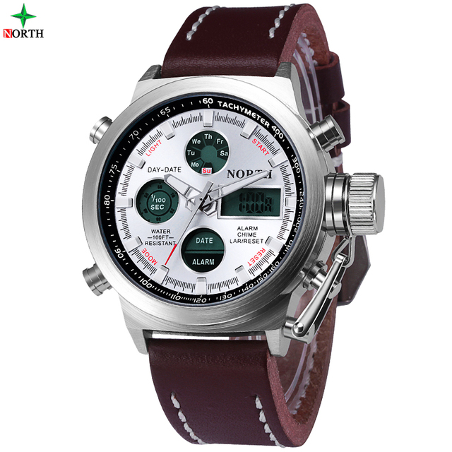 sport mens watches top brand luxury army analog digital