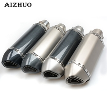 Motorcycle Exhaust pipe Muffler Escape db killer for Suzuki GSX R 600 750 GSF 650 SV 1000 S