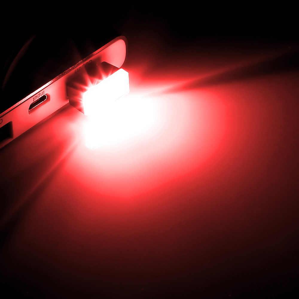 ไฟ LED รถ Auto ภายใน USB สำหรับ volkswagen bmw e46 e90 peugeot 206 307 mercedes audi a3 ที่นั่ง ibiza leon fiat 500