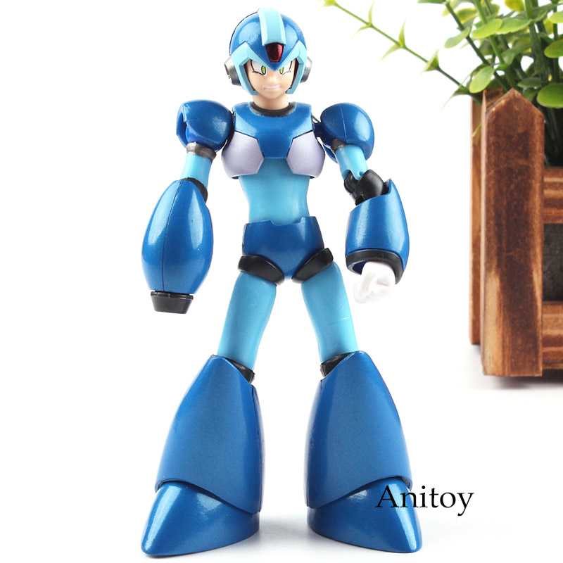 Mega Man Series Figure Megaman X Action Figure Rockman X Toy D Arts Model 13cm