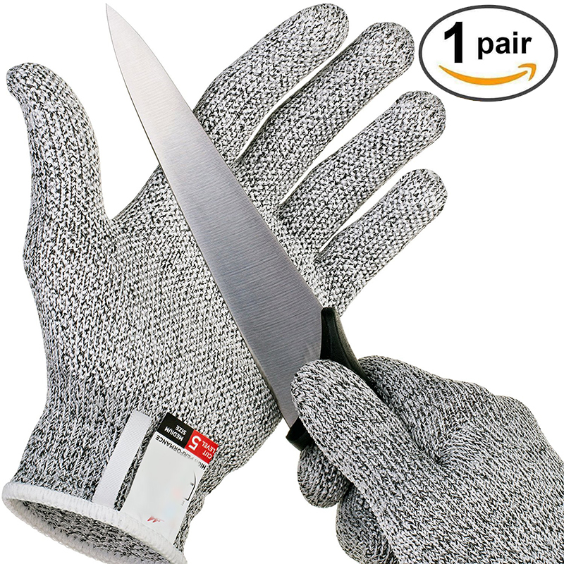 Anti-cut Gloves Safety Cut Proof Stab Resistant Stainless Steel Wire Metal Mesh Kitchen Butcher Cut-Resistant Safety Gloves(China)