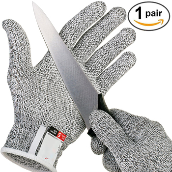 Anti-cut gloves Safety Cut Proof Stab Resistant Stainless Steel Wire Metal Mesh Kitchen Butcher Cut-Resistant Safety Gloves vq30det エキマニ