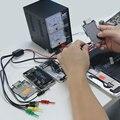 Herramientas de reparación del teléfono móvil cable de datos de energía para el iphone sony samsung teléfono fuente de alimentación de cc cable de prueba de corriente con usb salida