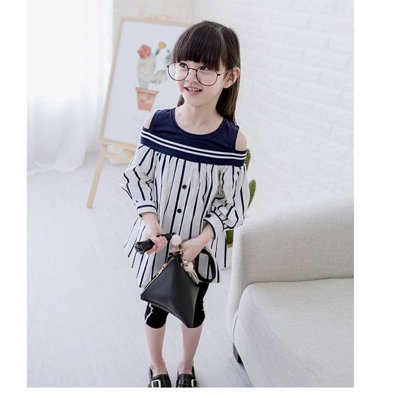 And Daughter Clothes Striped Blouses Cotton Women Plus Size