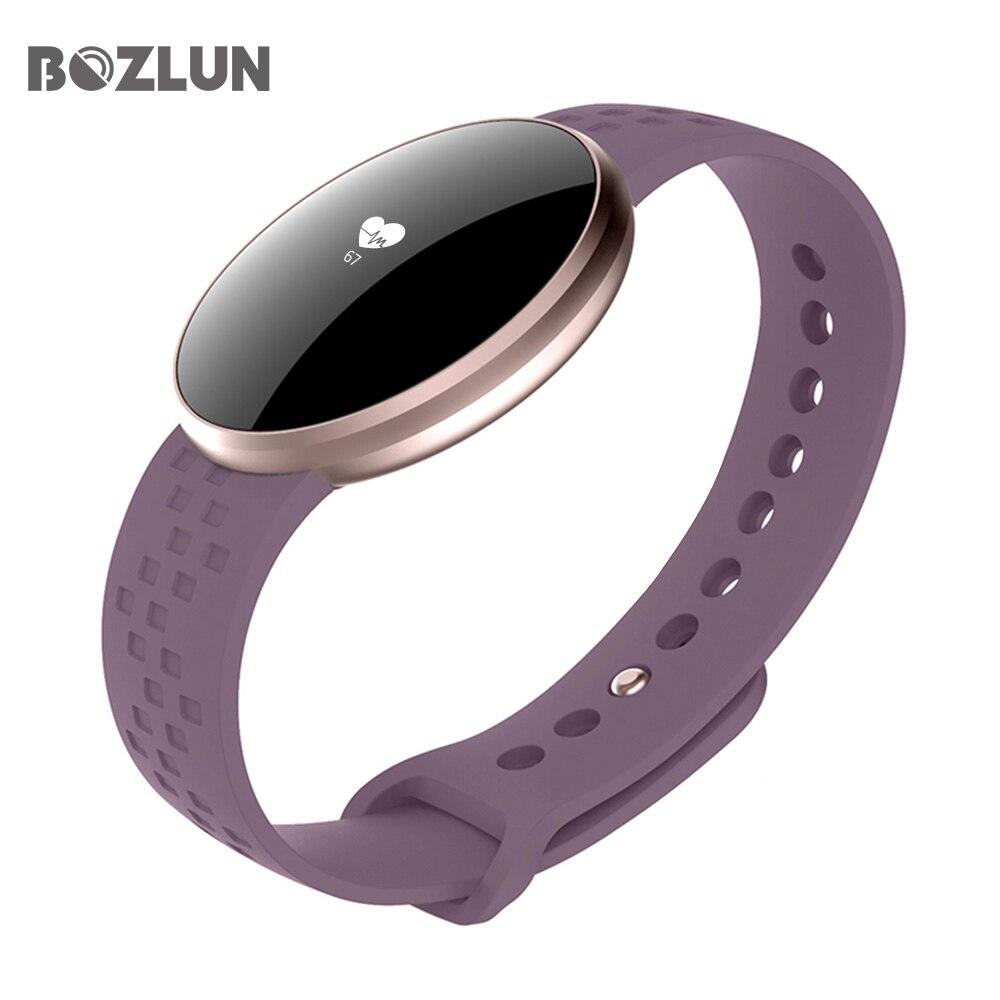 Mujer reloj inteligente para iPhone teléfono Android con Fitness dormir vigilancia impermeable Cámara de Control Remoto GPS Auto despertar pantalla