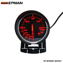 EPMAN - BF 60mm Boost Gauge High Quality Turbo Gauge with Red & White Light For Audi TT S3 A3 03-06 Seat Leon EP-BF60001-BOOST(China)