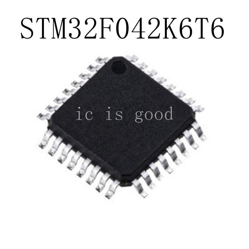 10PCS LOT STM32F042K6T6 STM32F 042K6T6 LQFP 32 NEW