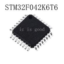 10PCS/LOT STM32F042K6T6 STM32F 042K6T6  LQFP-32 NEW