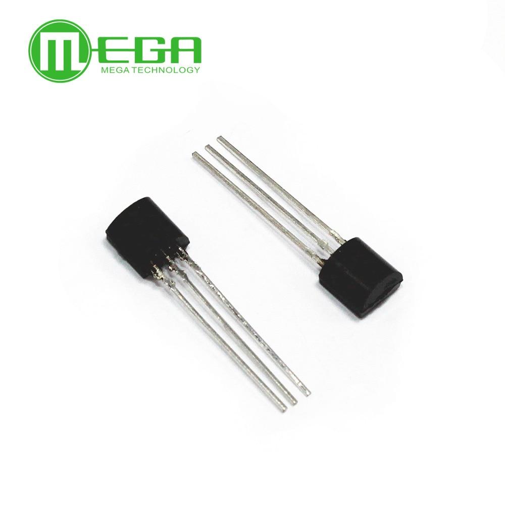 50PCS LOT DS18S20 T R DS18S20 DS1820 TO 92 temperature sensor original