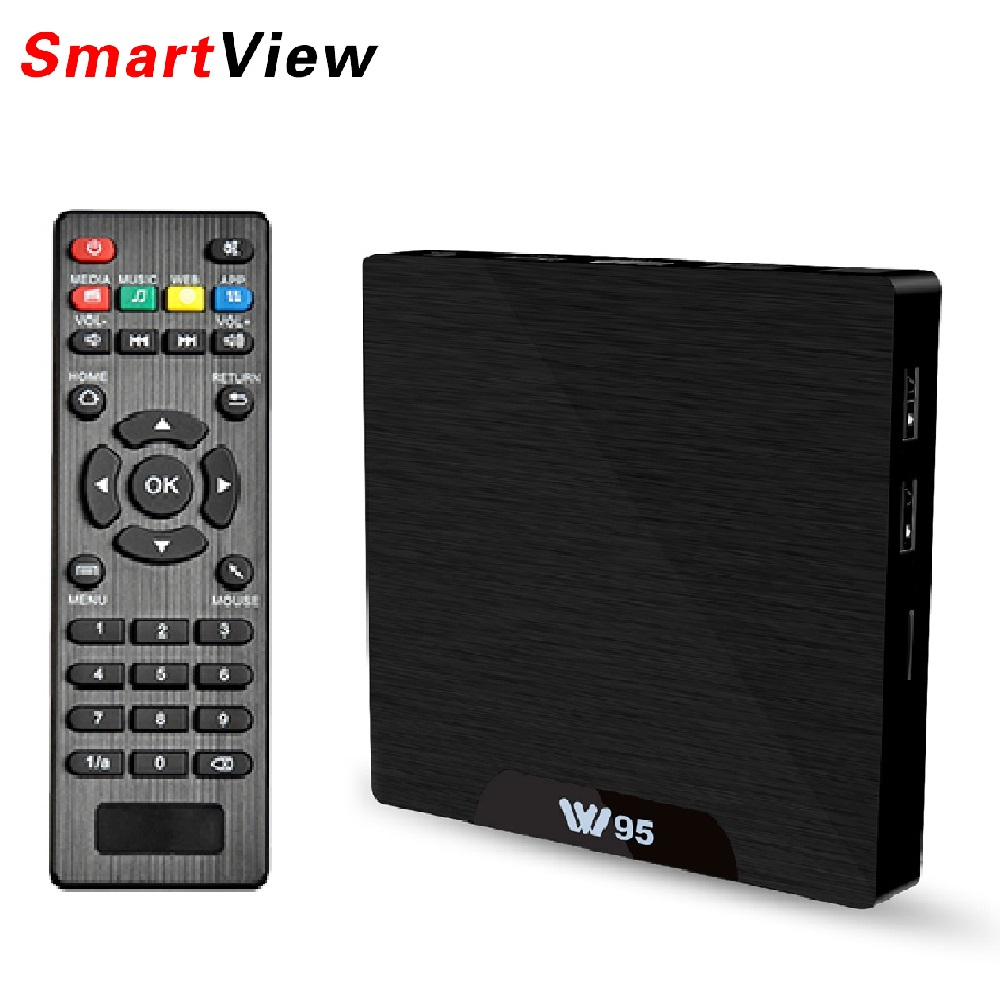 W95 Android 7.1 TV Box 2GB 16GB Amlogic S905W Quad Core 2.4G WiFi H.265 4K 30fps VP9 Media Player 2G/8G 1G/8G VONTAR W95 IPTV android 6 0 tv box t95x amlogic s905x 2g 8g 2g 16g quad core 100lan wifi h 265 16 1 full pre installed media player box