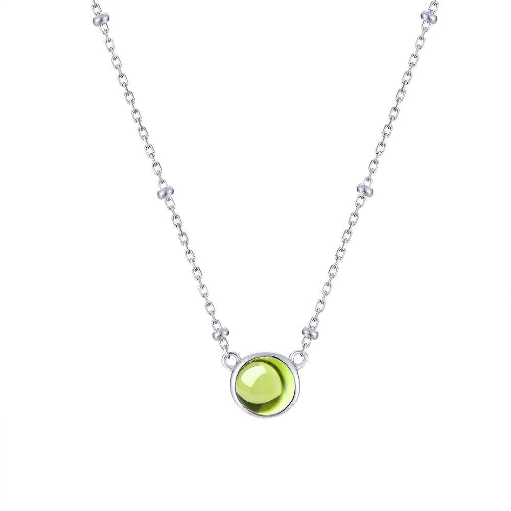 Nouvelle offre spéciale grenat pierre gemme 100% 925 argent Sterling naturel grenat pendentif collier femme bijoux fins