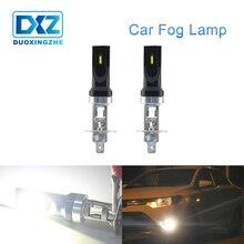 DXZ 1X H1 LED Car Fog Lamp Light sourcing 12V White 6000K Daytime Running External Turn Park Driving Vehicle Bulb Auto Universal