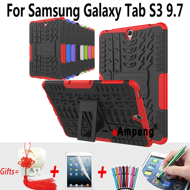 new concept 57add 3249d US $6.95 21% OFF Tablet Case For Samsung Galaxy Tab S3 9.7 T820 T825 Cover  Case Silicon Shockproof Back Case For Samsung Tab S3 9.7 Cover-in Tablets &  ...