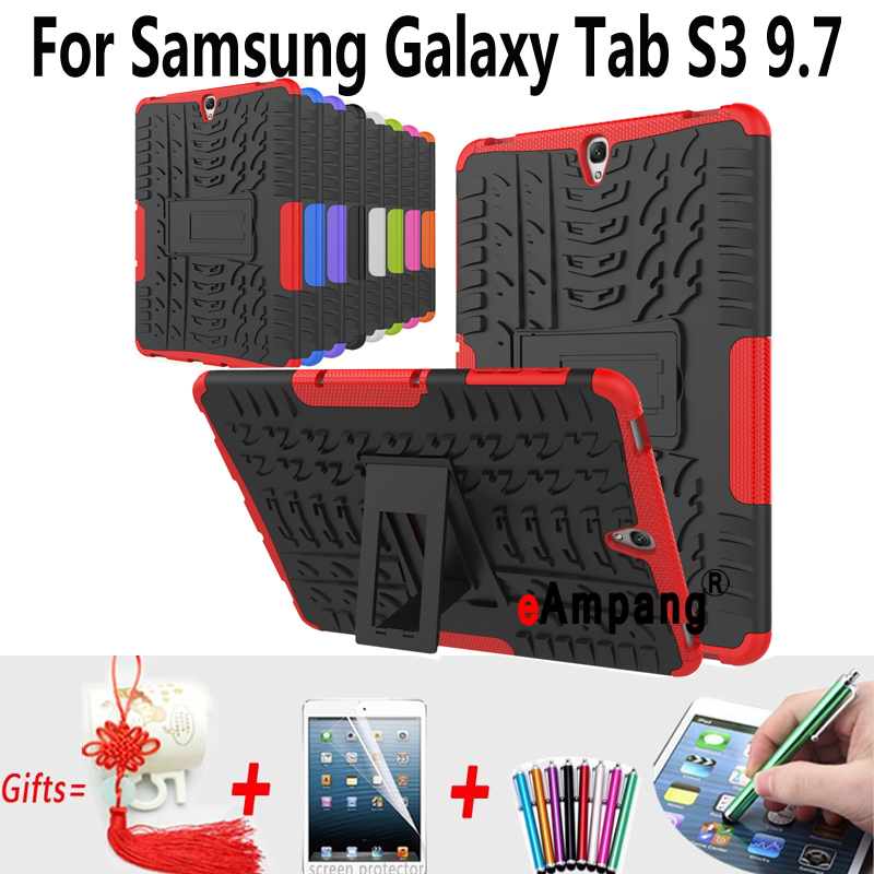 Tablet Cases For Samsung Galaxy Tab S3 9.7 inch T820 T825 Cover Case Silicone Shockproof Back Cases For Samsung Tab S3 9.7 Cover sahar cases чехол узор с маленькими сердечками samsung galaxy s3