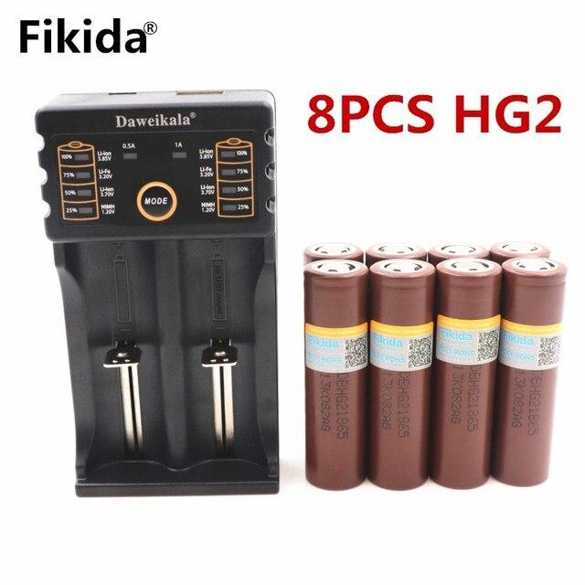 Đối VỚI LG HG2 18650 3000 mah điện tử thuốc lá Sạc pin điện xả cao ngân hàng điện đèn pin + Daa201 Sạc