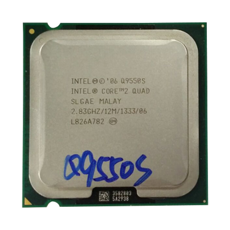 Intel Core 2 Quad Q9550S  2.833Ghz/ 12M /LGA 775 CPU Processor