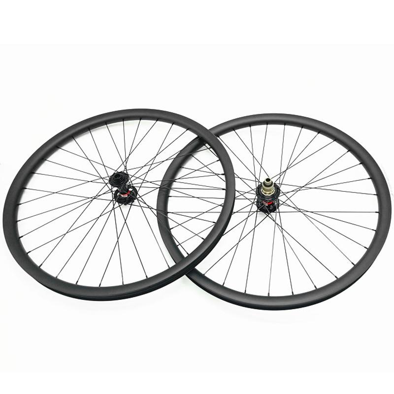 27.5er carbon mtb disc wheels 27.5er mtb bikes wheels 650B carbon mtb - Cycling