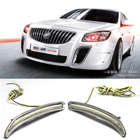 High Quality Updated LED Daytime Running Lights DRL Yellow Turn Signal For Buick Regal GS 2014