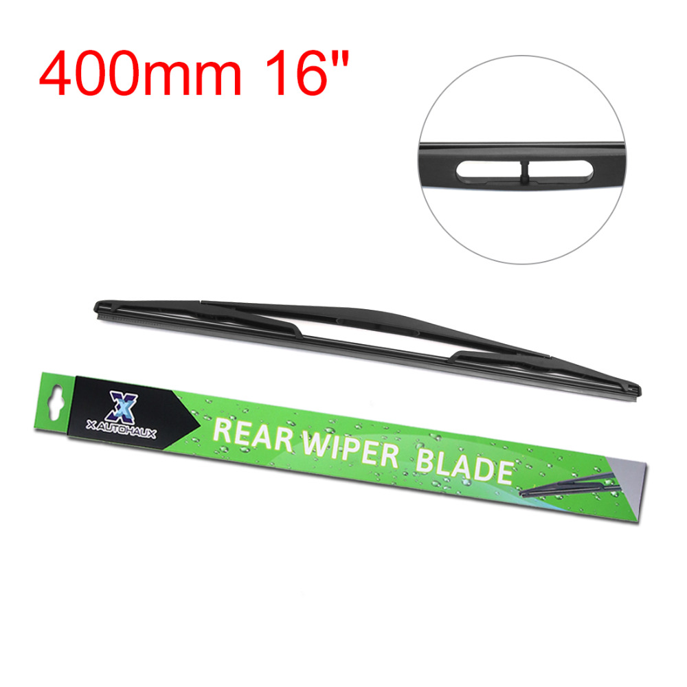 "X AUTOHAUX 400mm 16"" Rear Windshield Wiper Blade For Nissan Kubistar 2003  2009 Primastar 2002 2016 For Primera Wagon 2001 2010-in Windscreen Wipers  from ..."