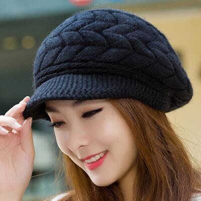 Winter Beanies Knit Women's...