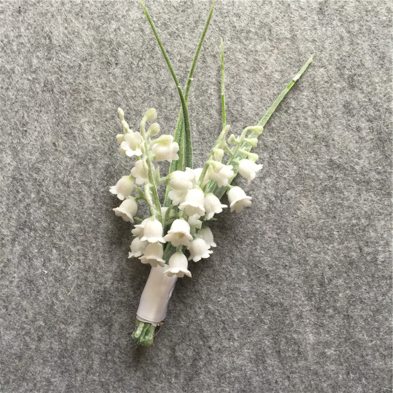 Wedding pin Mémoire charme Bouquet Mariée Marié Bouton Trou deux photos
