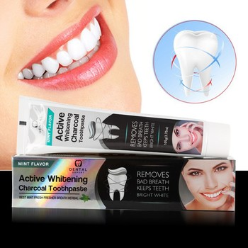 Bamboo Charcoal Toothpaste Whitening Black Toothpaste Charcoal Toothpaste Oral Hygiene Toothpaste Toothpaste