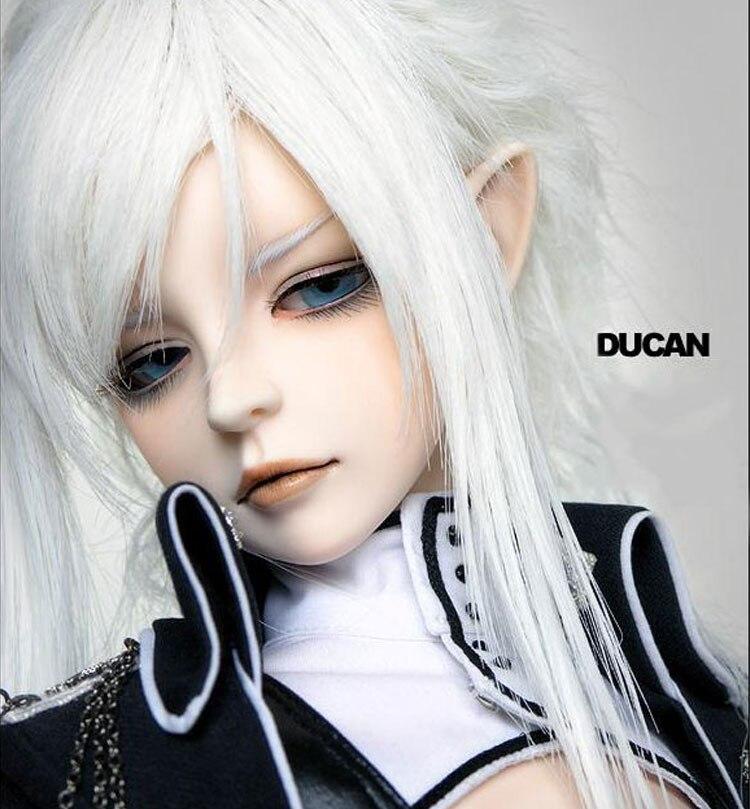 OUENEIFS Ducan elf orecchio o orecchio umano DOD bjd sd dol l1/3 del modello del corpo del bambino dei ragazzi delle ragazze gli occhi di alta Qualità negozio di giocattoli