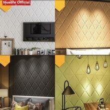 3D PE foam Wall Sticker Living Room shop office Bedroom Decor Waterproof Covering Wallpaper For Kids