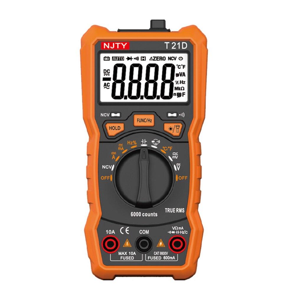 T21D mini Multimeter Spannung Strom Esr Transistor Tester Meter Digitalen Multimetro Profissional Multimetre Aneng Multitester