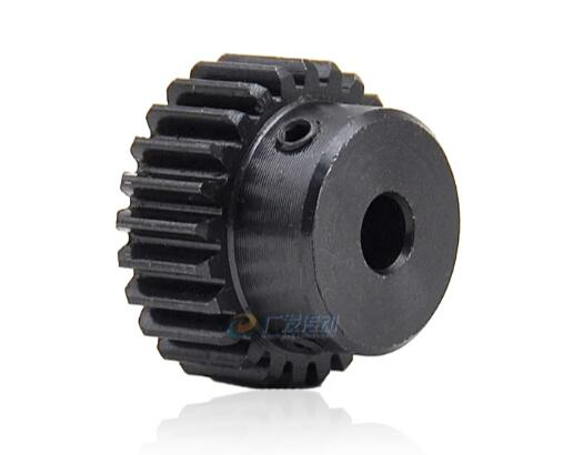 30T Mod 1 Pinion Gear 5-17mm Bore Motor Spur Gear Outer Dia 32mm 45# Steel