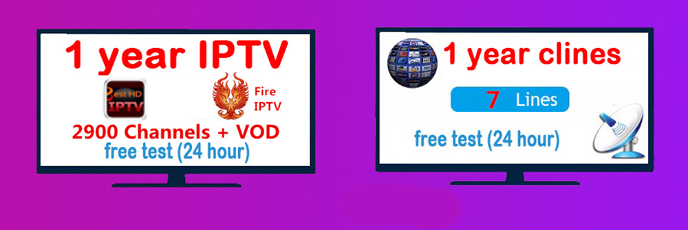 US $37 1 5% OFF TV BOX Android 7 1 iptv subscription 1 year Firetv IPTV  Support Android flat phone 2500+Channel European/French/Arabic/Africa -in