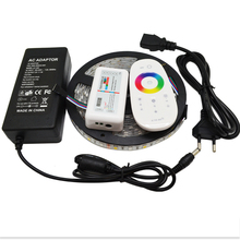 5M RGBW RGBWW 5050 SMD LED Strip Light Non Waterproof DC12V RGB+White Diode Tape +RGBW Remote Controller+ 12V 5A Power Adapter