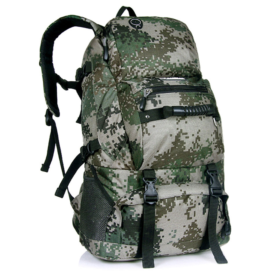 LOCAL LION 40L Men Women Outdoor Backpack Hiking Rucksack Waterproof Sport Bags Mountaineer Climbing Bag Camping Backpack-in Climbing Bags from Sports & Entertainment    3